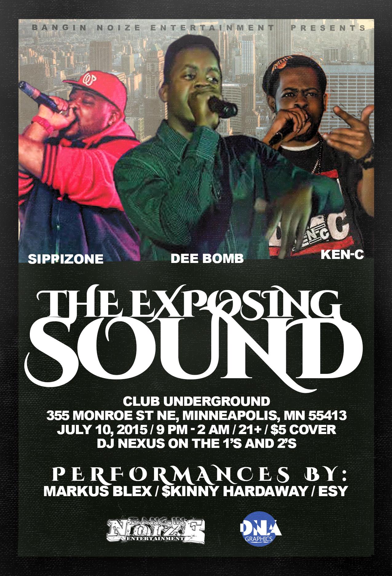 exposing sound(1)